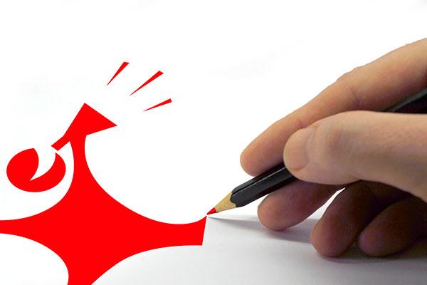 graphiste communication logo