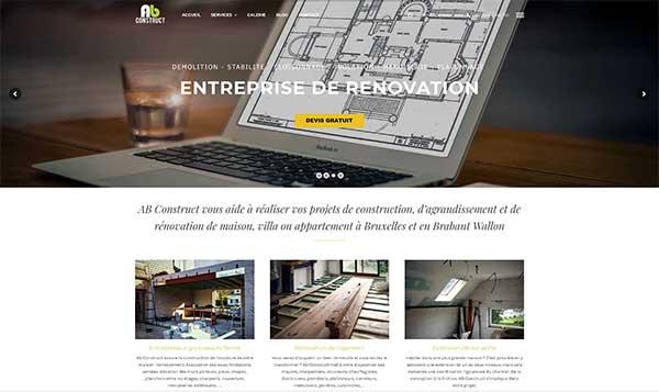 site internet entrepreneur gros oeuvre à waterloo
